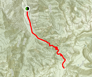 Quartz Creek Trail Map