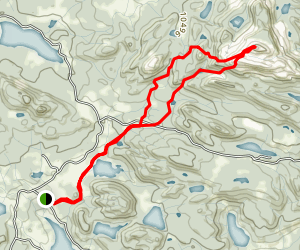 Leon Peak Trail Map