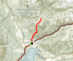 Ptarmigan Peak Trail Map