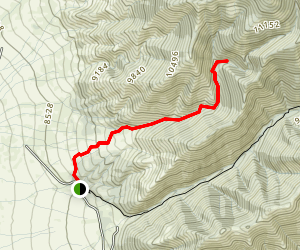 Hot Springs Canyon Trail Map