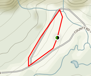 Cottonwood Lake Campground Map