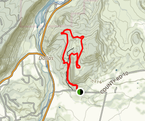 Ridgway Area Trails Map