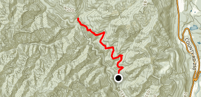 Jones Creek and Dutch Creek Loop Map