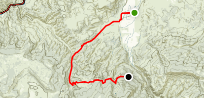 Cottonwood Pass Road Map