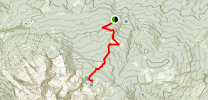 Thomas Lakes Trail Map