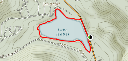 Lake Isabel Map