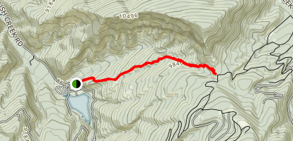 Sneve Gulch Trail Map