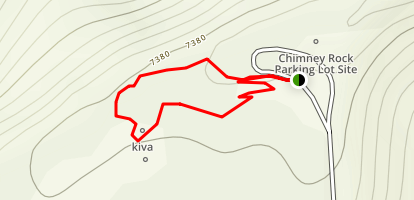 Great Kiva Trail Map