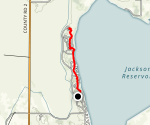 Jackson Reservoir Map