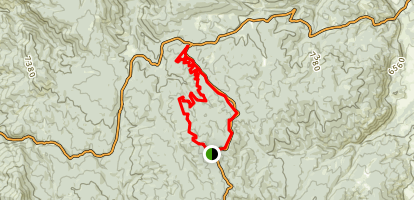 Sunset Point Loop Map