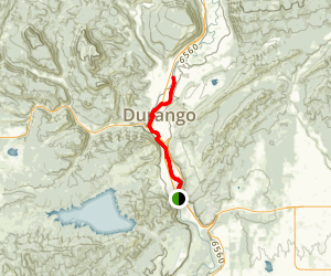 Animas River Trail (675) Map