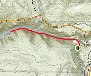 Pine Creek Trail (Curecanti) Map