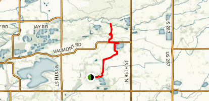 Teller Farms (East Boulder) Trail Map