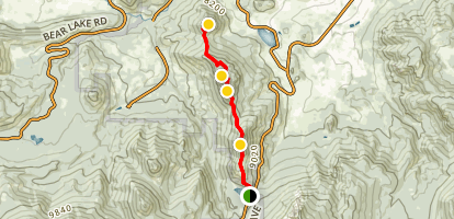 Gianttrack Mountain Trail Map
