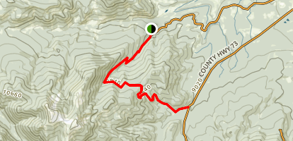 Tipperary Creek Trail Map