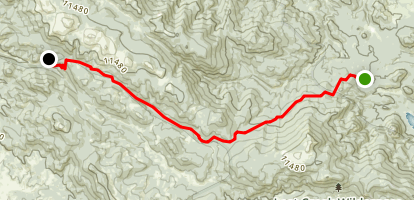 Colorado Trail (Wellington Lake Road to Long Gulch Trailhead) Map