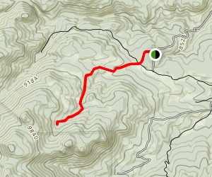 Grass Creek Trail Map
