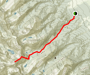 Mount Adams Summit Trail Map