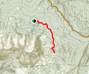 Beckwith Pass Trail Map
