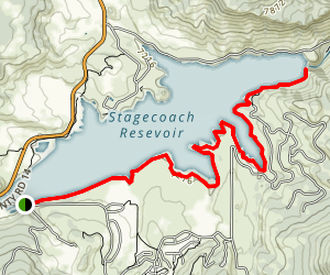 Elk Run Trail Map