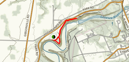 Dam Overlook Trail Map