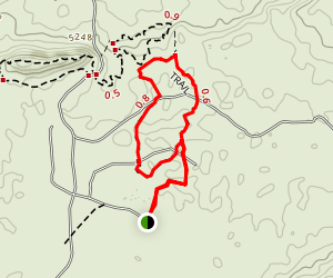 Okonjima Bush Camp Walk Map