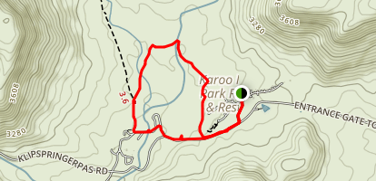 Karoo Camp Loop Map