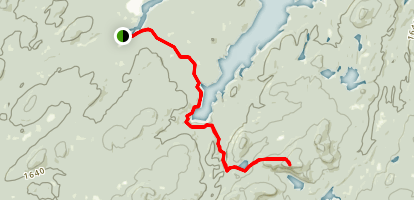 Cat Mountain Trail Map