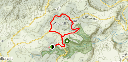 Waterfall MTB Loop Map