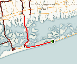 Jones Beach Bike Path Map