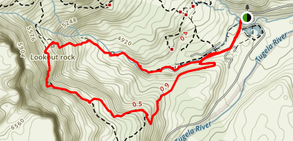 Lookout Rock Loop Map