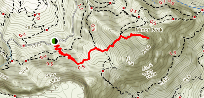 Devils Peak Map