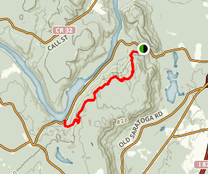 Spier Mountain Trail Map
