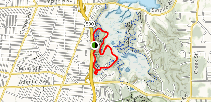 Tryon Park Loop Map