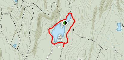 Mongaup Pond Loop Map