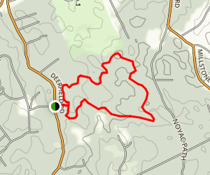 Mountain Laurel Loop Trail Map