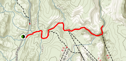 Wire Pass Trail Map