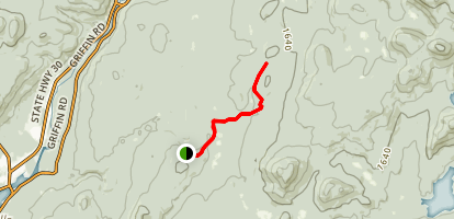 Pine Orchard Trail Map