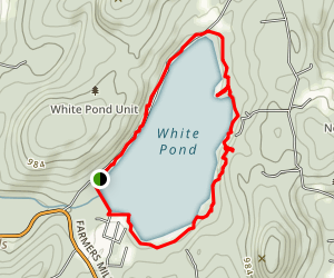 White Pond Trail Map