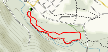 Assembly Park Trail Map