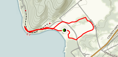 Glimmerglass Trail Map