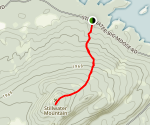 Stillwater Mountain Trail Map
