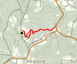 Hand Hollow Conservation Area Loop Map