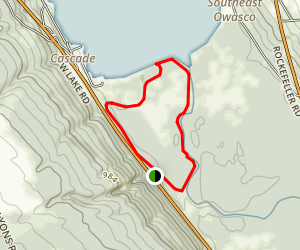 Owasco Flats Trail Map