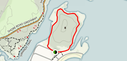 Hunter Island Loop Trail Map
