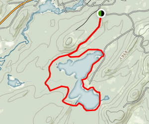 Nicks Lake Loop Trail Map