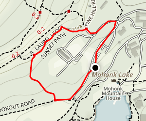Sunset Path Trail Map