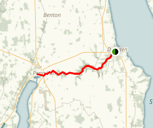 Keuka Lake Outlet Trail Map