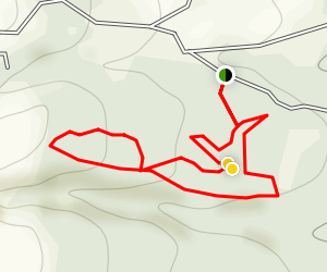 Camp Road Mountain Bike Trails Map