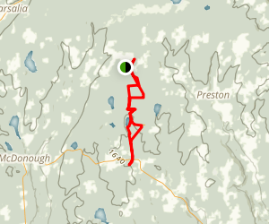 Berry Hill Fire Tower/Finger Lakes Trail System Map